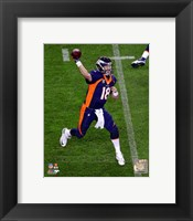 Framed Peyton Manning October 19, 2014