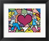 Framed Heart Kids