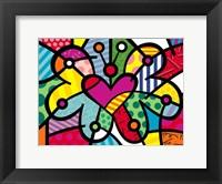Framed Heart Butterfly