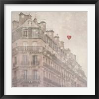 Framed Heart Paris