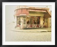 Framed Paris Brasserie