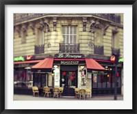 Framed Paris La Rouerge