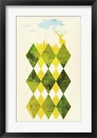 Framed Elegant Forest