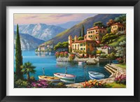 Framed Villa Bella Vista