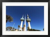 Framed Kuwait, Kuwait City, Kuwait Towers