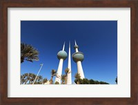 Framed Kuwait, Kuwait City, Kuwait Towers