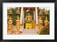 Framed Buddha Image at Wat Si Saket, Laos