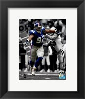 Framed Michael Strahan 2003 Spotlight Action