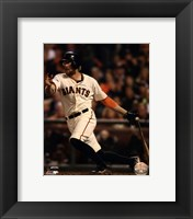 Framed Hunter Pence Game 4 of the 2014 World Series Action
