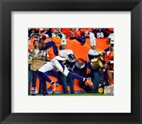Framed Emmanuel Sanders 2014 running action