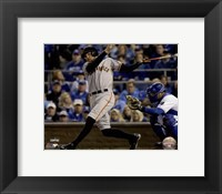 Framed Hunter Pence Single Game 7 of the 2014 World Series