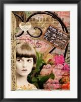 Framed Fleurs Voltaire