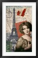 Framed Paris Memento