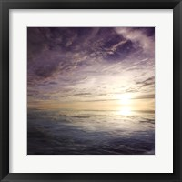 Framed Cloudscape Echoes IV