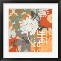 Ginger Blossom I Framed Print