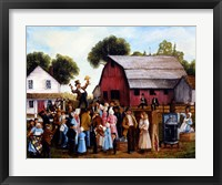 Framed Farm Auction
