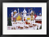 Framed Santa's North Pole