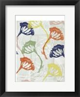 Framed Stamped Floral II