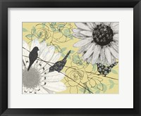 Birds on a Wire I Framed Print