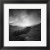 Framed Misty Weather I