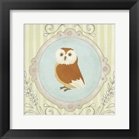 Forest Cameo V Framed Print