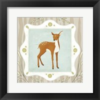Framed Forest Cameo VII