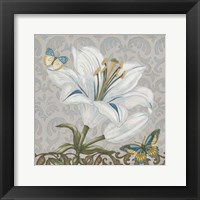 Garden Romance II Framed Print