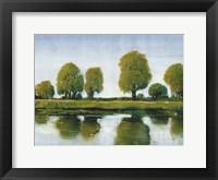 River Reflections I Framed Print