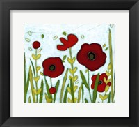 Framed Precious Poppies II