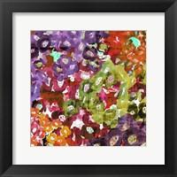 Framed Floral Barrage I