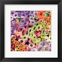 Framed Floral Barrage III