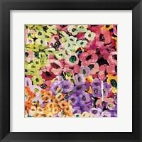 Framed Floral Barrage IV