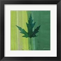 Framed Silver Leaf Tile V