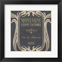 Vintage Wine Labels V Framed Print
