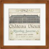Framed Vintage Wine Labels VII
