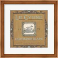 Framed Vintage Wine Labels VIII
