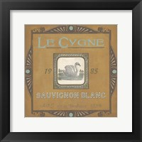 Framed Vintage Wine Labels VIII