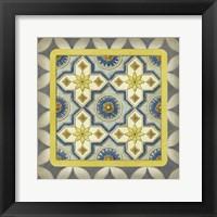Classic Tile I Framed Print