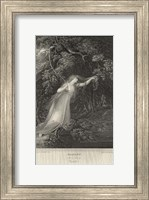 Framed Hamlet - drawing