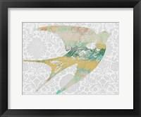 Framed Patterned Bird II