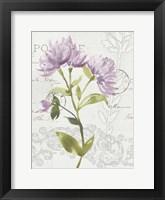 Framed Romantic Watercolor II