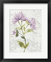 Framed Romantic Watercolor II