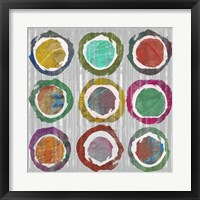 Framed Jagged Circles I