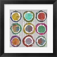 Framed Jagged Circles I