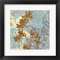 Tropical Interplay I Framed Print