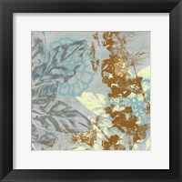 Tropical Interplay II Framed Print