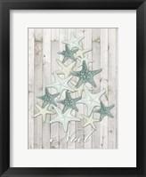 Framed Coastal Christmas IV