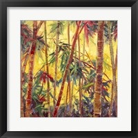 Framed Bamboo Grove II