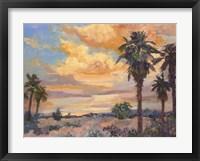 Framed Desert Repose I