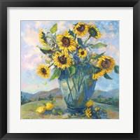 Framed Floral Kaleidoscope III